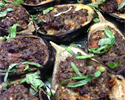 Stuffed Local Aubergines